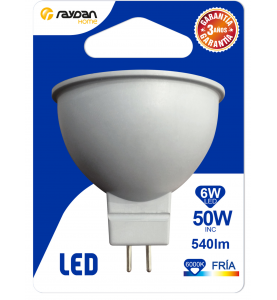 LED SMD SPOTLIGHT PLAST 6W...