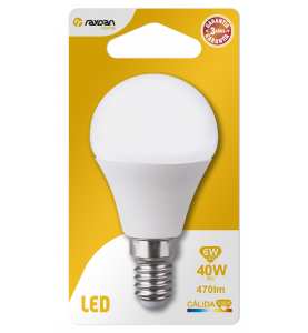 LED SMD ESFERICA PLAST 6W...