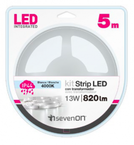 KIT TIRA LED 5M BLANCO...